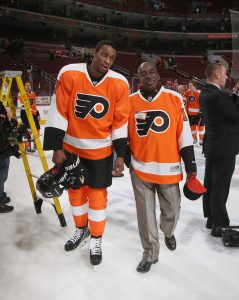 Wayne with his Father