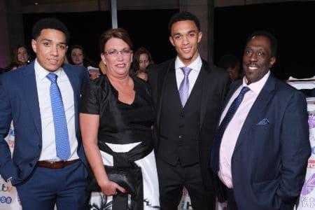 Trent Alexander Arnold family