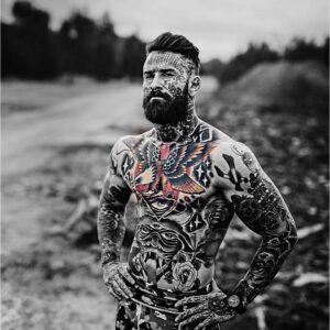 MMA fighter Julian Wallace
