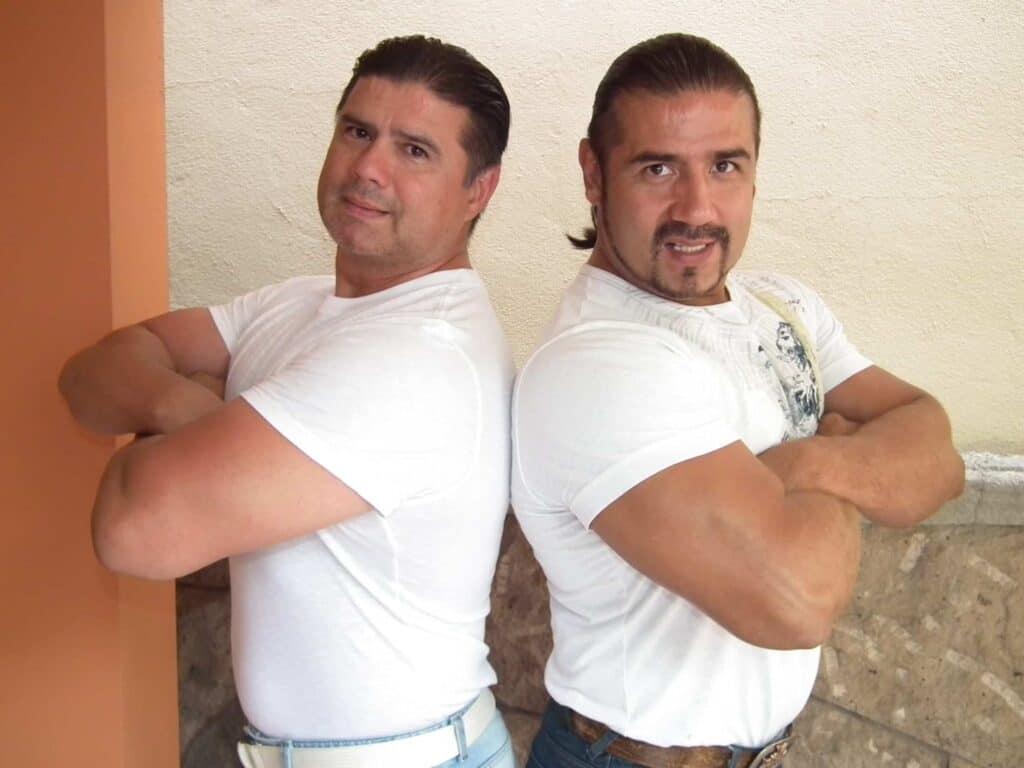 Hector Garza, with his brother Humberto Garza Jr.
