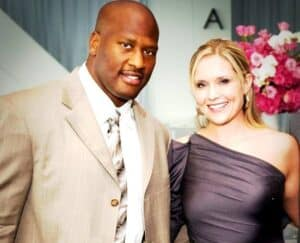 James Harrison's girlfriend Beth Tibbott