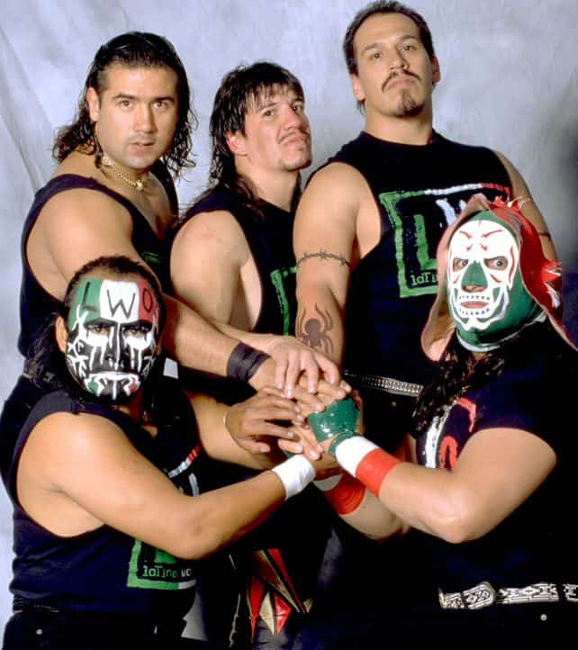 Latino World Order(LWO), a wrestling group created by Eddie Guerrero