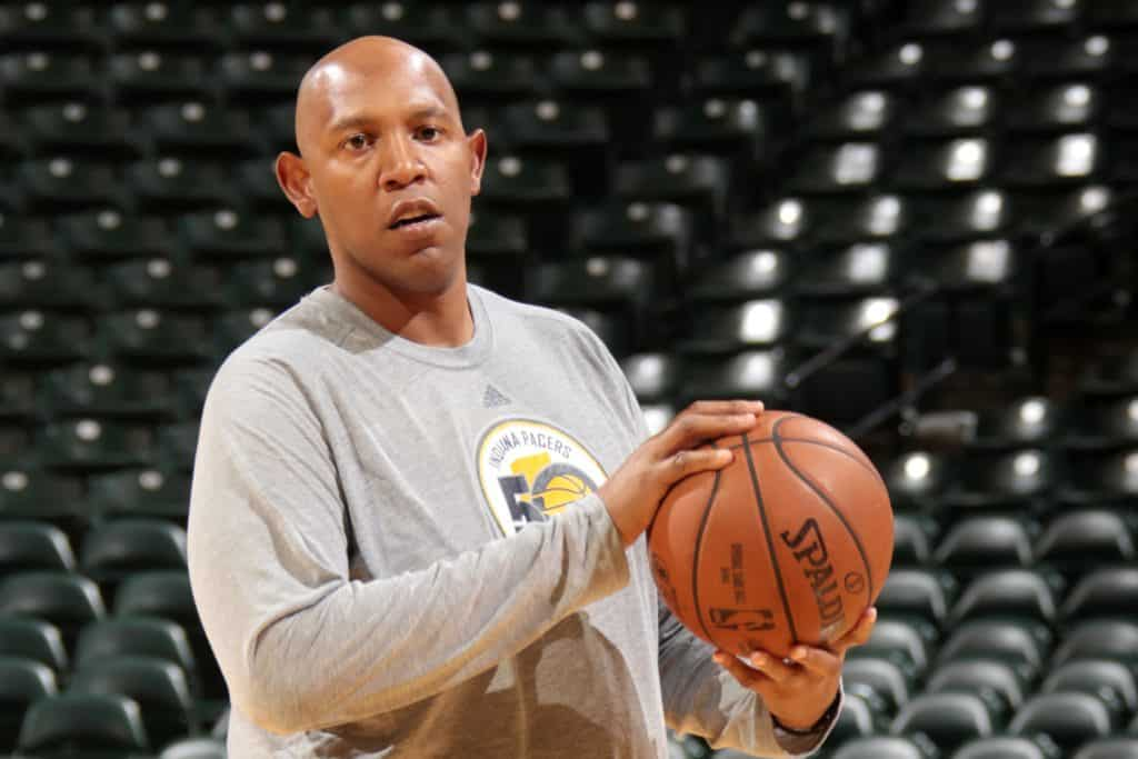 Popeye Jones, a basketball coach and a former player