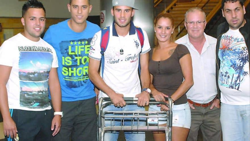 Jese Rodriguez family