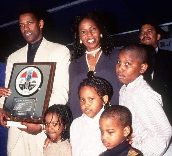 Malcolm Washigton family