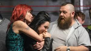 Paige with her family