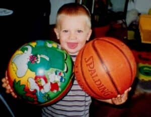 Childhood Picture of Luka