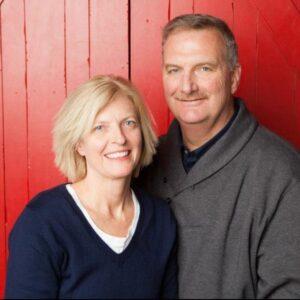 Greg Kite and his wife Jennifer