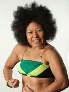 Kyoko in Afro