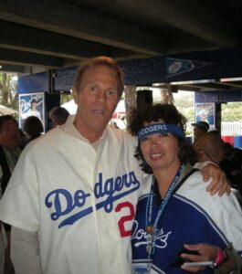 Parker supporting Dodgers