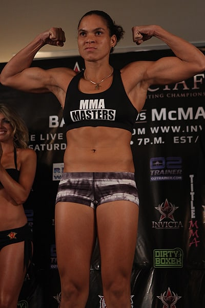 Amanda Nunes weight division