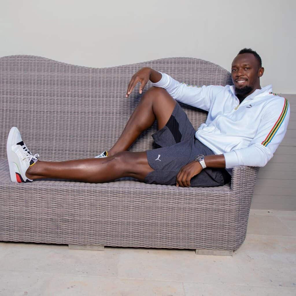 Bolt featuring for the PUMA