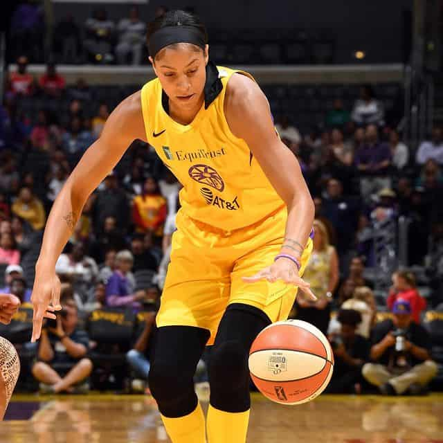 Candace Parker during the game