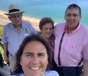 Conchita Martínez With Family