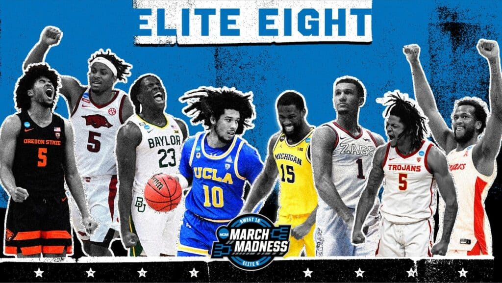 Elite Eight teams for the final four