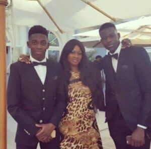 Ousmane Dmbele's mother Fatimata Dembele