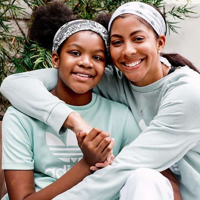 Parker with her daughter, Lailaa