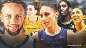 Steph Curry and WNBA players receive Jackie Robinson Award