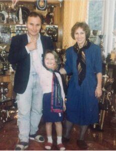 Svetlana Kuznetsova With Family