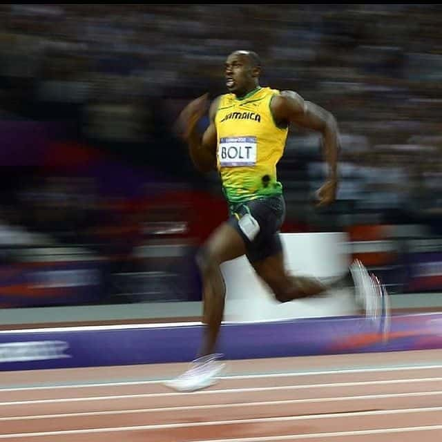 The fastest runner, Usain Bolt