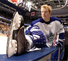 Wade Belak before the games