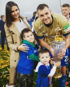 artem dzyuba family