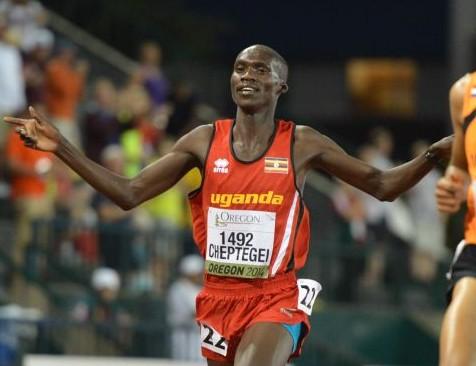 Joshua Cheptegi distance runner