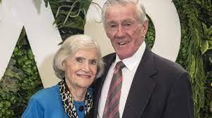 Ken Rosewall with his wife Walma Mclver
