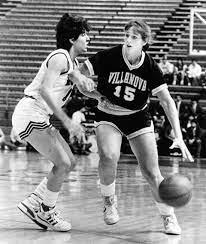 Shelly playing basketball