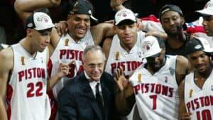 Larry Brown Detroit Pistons