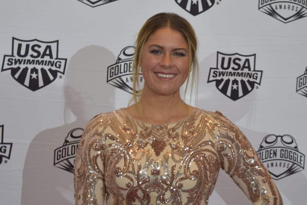 American Swimmer Elizabeth Beisel