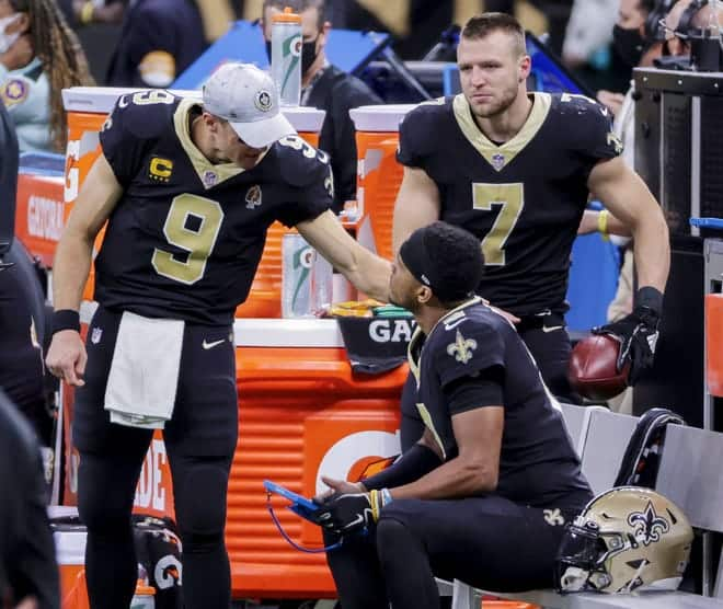 Brees and Winston has been strong together