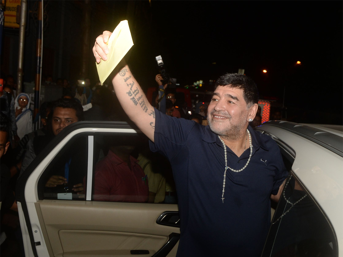 Diego Maradona (Source The Economic Time)