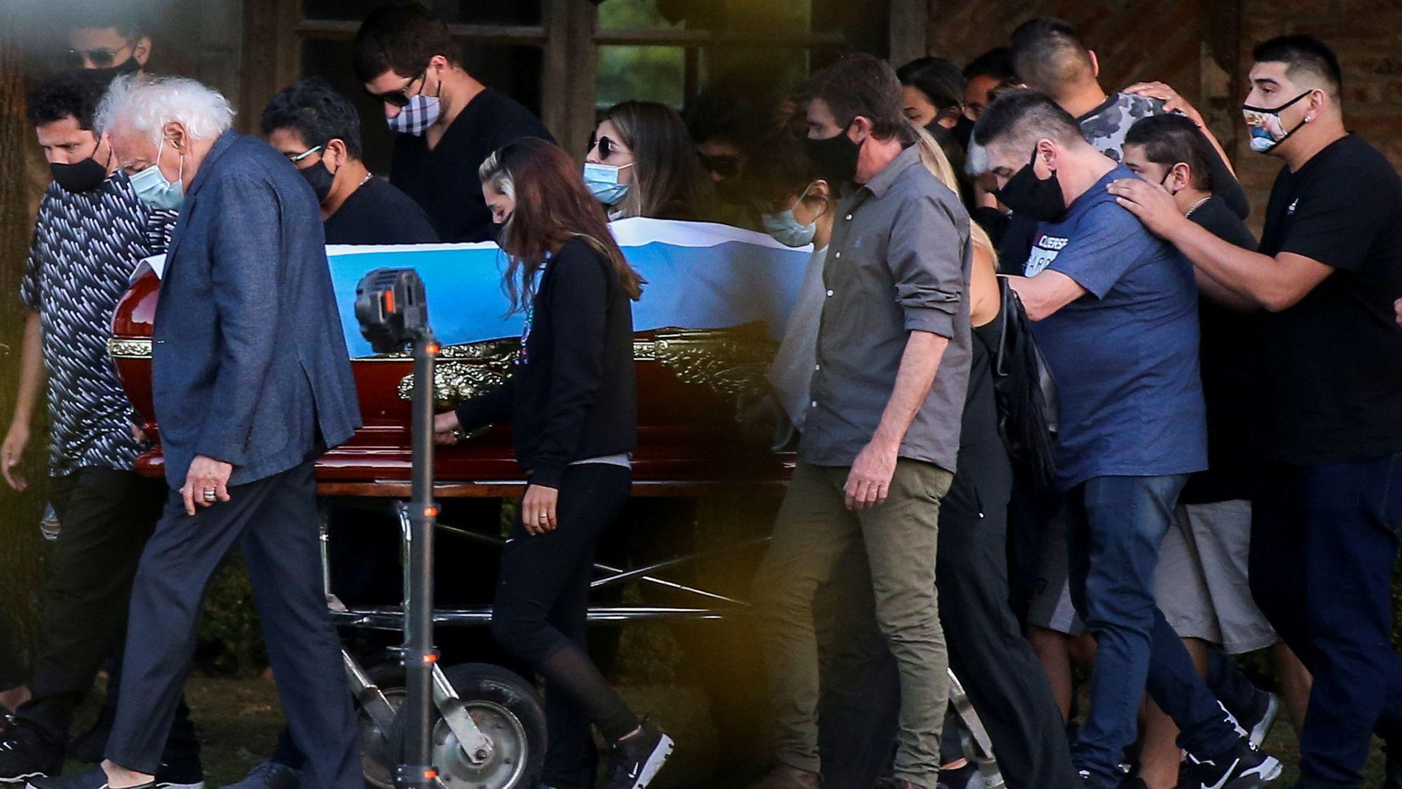 Diego Maradona death (Source Sky News)