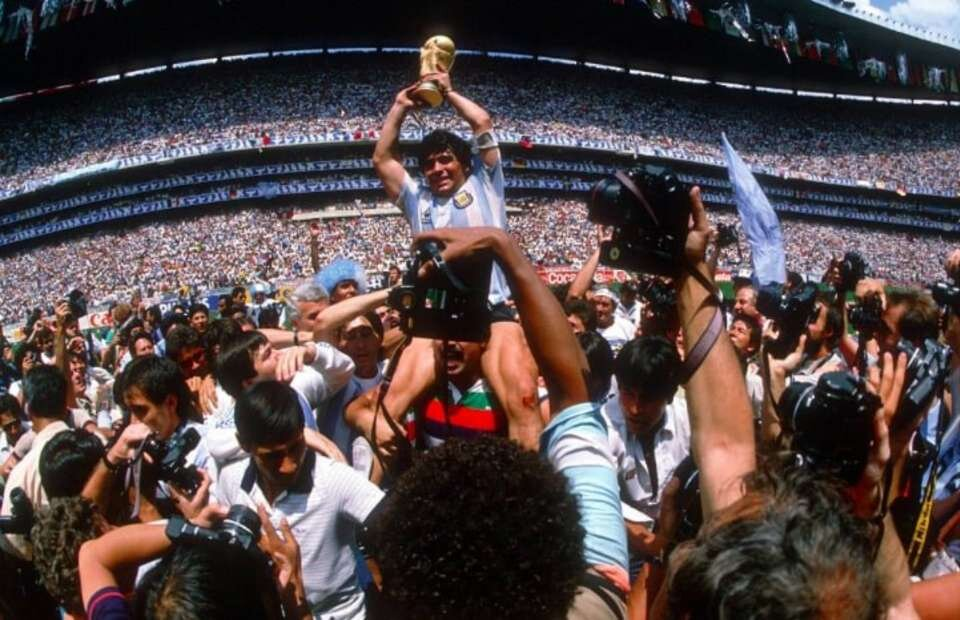 Diego helped Argentina win World cup 1986 (Source Give me Sport)