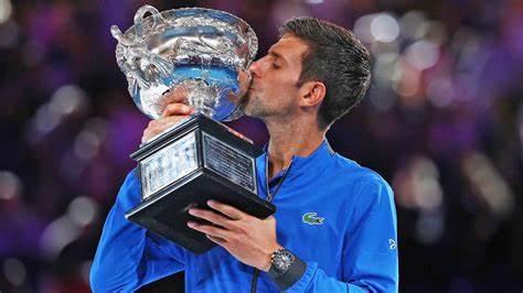 Djokovic is record holder 9 times Australian Open champion