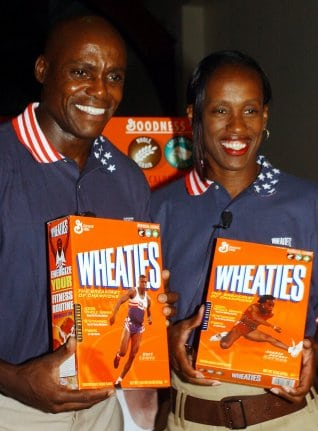 Lewis for the Wheaties