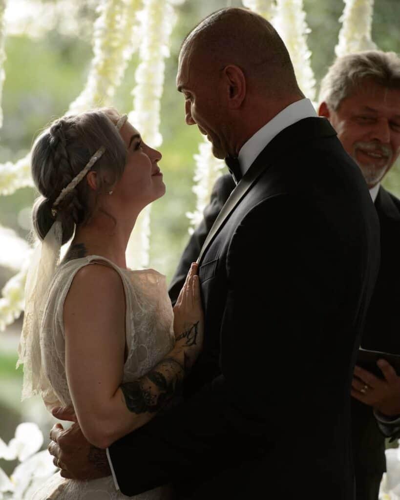 Sarah Jade and Dave Bautista Wedding