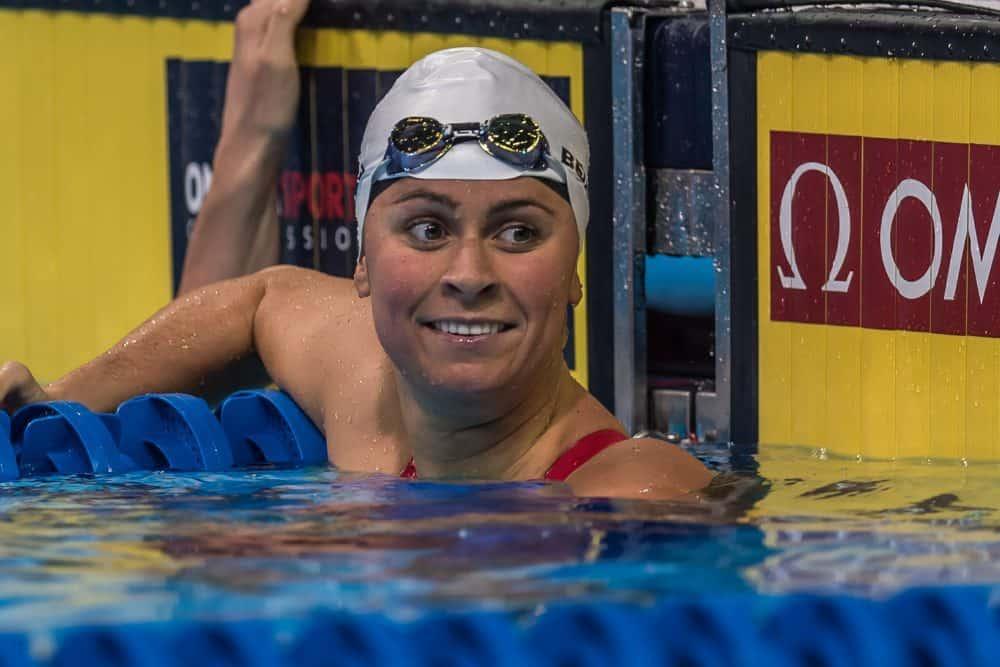 Swimmer Elizabeth Beisel