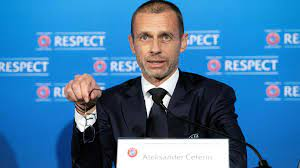 Uefa president Aleksander Ceferin welcomed the change