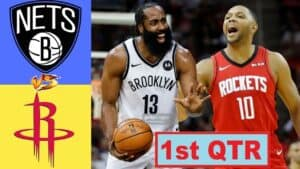 The Nets welcome the Rockets