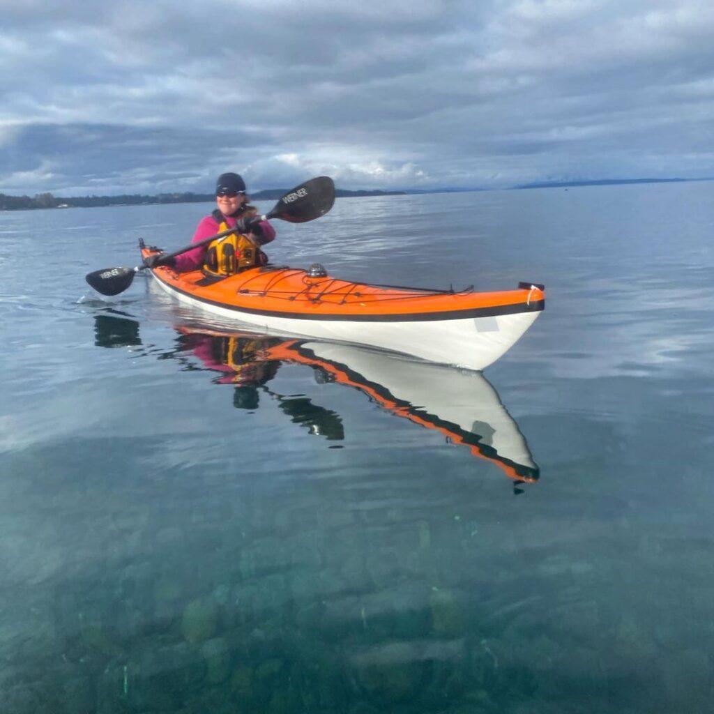 Clara Hughes Kayak