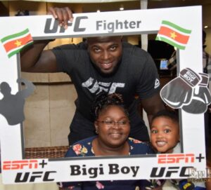 Bigi Big with his Mother