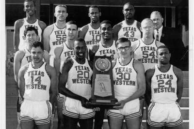 Dave with the1966 Texas Western Miners