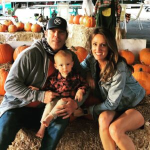 Allison with her family