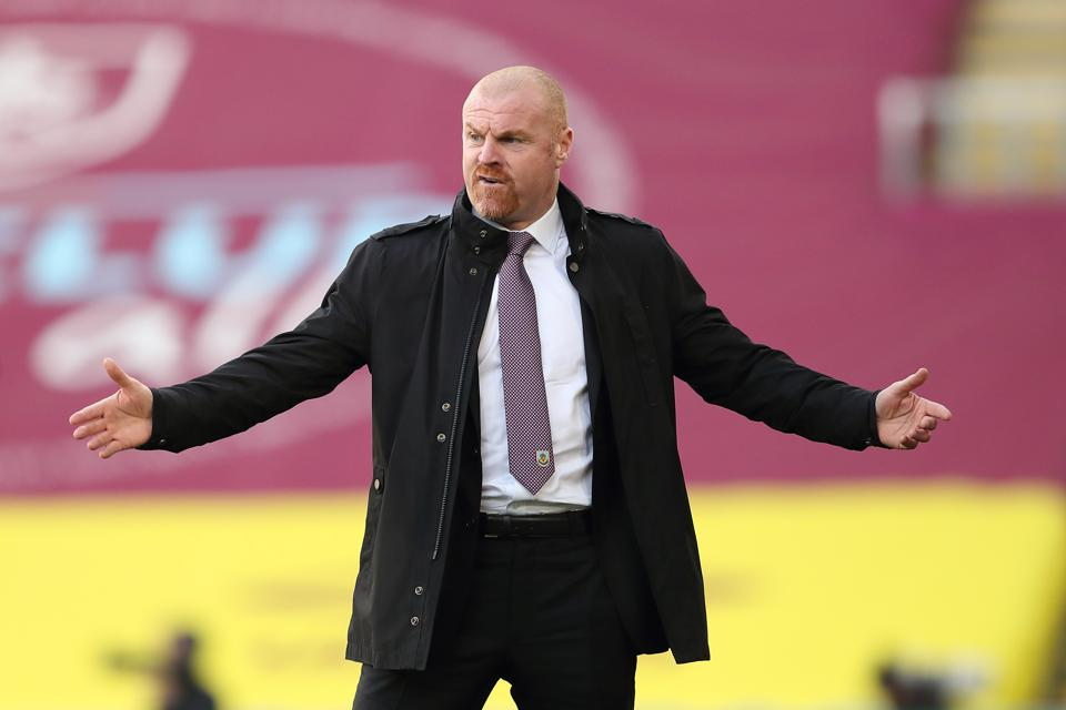 Burnley Manager Sean Dyche (Source Forbes)