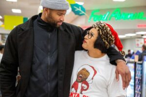 DeMarcus Cousins with his mom