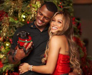 Jilly Anais with her boyfriend