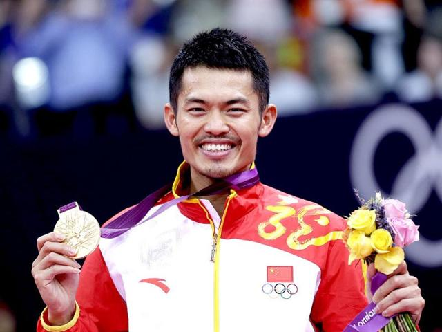 Lin Dan At The Olympics