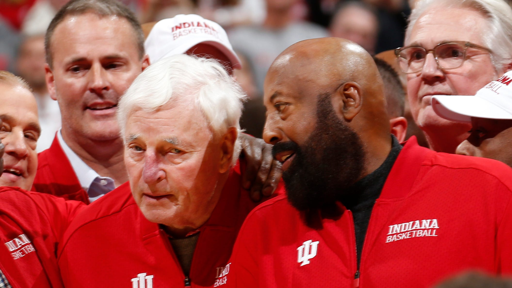 Mike Woodson With Bob Knight